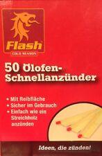 Flash ÖLOFENANZÜNDER 50 Stück Schnellanzünder
