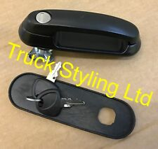 Pick-up Truck Hard Top Canopy Lock & 2 Keys Black Finish