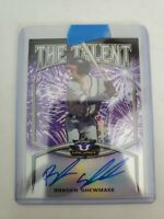 2019 Leaf Valiant Braves BRADEN SHEWMAKE PURPLE THE TALENT AUTO /15