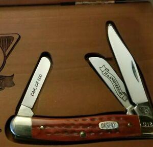 MINT Case XX 25th Anniversary 1 Of 500 USA Bass Pro Shops Folding Knife Knives