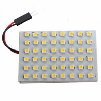 48LED Powerful Warm White Strip Car Caravan Interior Brigh Super Light Lamp N0Y7