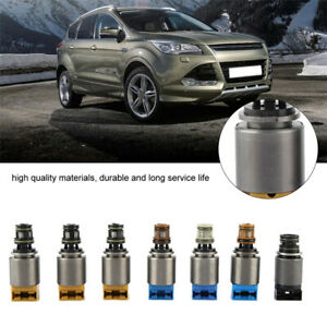 7x Automatic Transmission Solenoid Valve Kit for BMW X3 X5 Ford A6 A8 Q7 6HP26