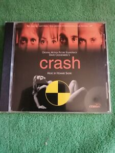 CRASH Motion Picture Soundtrack (1996) HOWARD SHORE - CD - David Cronenberg