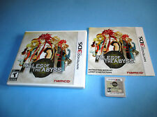 Tales of the Abyss (Nintendo 3DS) XL 2DS Game w/Case & Manual