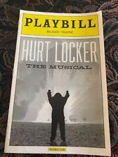 Hurt Locker The Musical Broadway Playbill