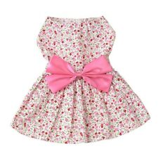 Holapet®  Bow Tie Pet Dress For Small Dogs Chihuahua Yorkshire Pug Skirt Puppy
