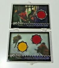 HARRY POTTER AND THE PRISONER OF AZKABAN COSTUME CARDS X 2 122/1300 AND 385/628