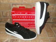 New Puma Smash Suede Athletic Shoe Mens 9 M/ Black-White 361896 04 $65