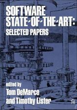 Software State of the Art: Selected Papers Tom DeMarco Hardcover