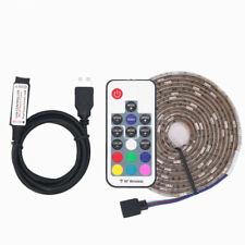 1M 5V 30 Led USB RGB Lighting 17 Key RF Remote 5050 SMD Waterproof Light Strip