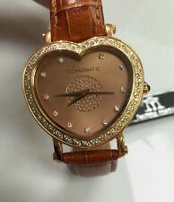 NEW LADIES TECHNOMATIC HIGH END NATURAL DIAMOND HEART DIAL WATCH