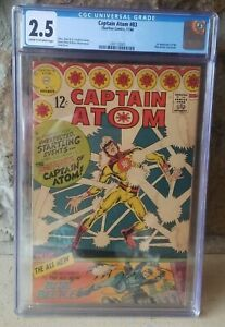 Captain Atom #83 CGC 2.5 1966  1st appearance Blue Beetle Ted Kord