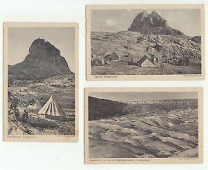 Greenland Dr Arnold Heim  original photo postcards circa 1920's?