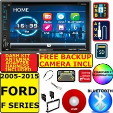 2005-2015 FORD F250/350/450/550 CD DVD USB AUX SD BLUETOOTH CAR RADIO STEREO