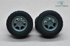 1/24 wheels 16 inch Volk Racing TE37X with tires for Tamiya Aoshima Hasegawa