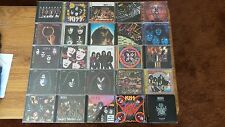 25 Kiss CD Lot Imports Rare German Japan KISS Live Gene Simmons
