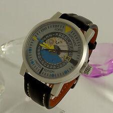 FORTIS Edelstahl-Armbanduhren mit 12-Stunden-Zifferblatt für Erwachsene