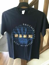 """MARILLION -  """"BROTHERS AND SISTERS IN FEAR"""" NAVY TEE-SHIRT MEDIUM"""