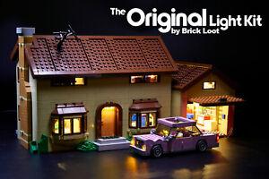 Brick Loot Light LED Lighting kit fits LEGO ® Simpsons™ House 71006