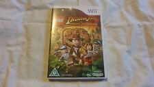 Wii GAME LEGO INDIANA JONES THE ORIGINAL ADVENTURES Nintendo Wii GAME Complete