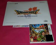 DRAGON QUEST VII LA QUETE DES VESTIGES DU MONDE NINTENDO 3DS + FAN PACK