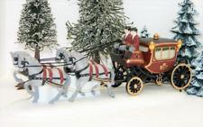 Dept 56 Heritage Snow Village ROYAL COACH 4 Horse Princess Carriage Accessory!