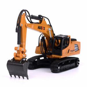 1/60 Scale Excavator Engineering Vehicle Construction Equipment Model Diecast