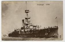AK War Ship Dreadnought Erin, Kriegsschiff, Foto-AK 1913