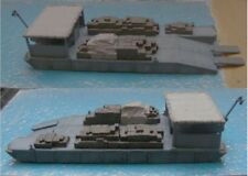 MGM 060-126 1/72 Resin WWII NLP Tapered Pontoon Barge with Wooden Boxes