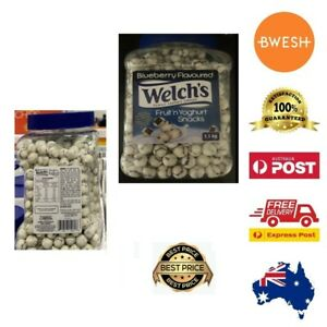 1.1KG Blueberry Flavoured Welch's Fruit'n Yoghurt Snacks Home Office Pantry