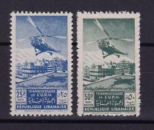 LIBAN Poste Aerienne N° 55/56 Neuf **