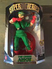 "1999-DC SUPER HEROES GREEN ARROW -9"" Inch FIGURE MISB FLAWLESS VHTF LOOK"