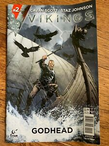 Vikings Godhead Comic Issue 2 July 2016 Cavan Scott Staz Johnson
