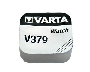 Varta 379 16mAh 1.55V Electronic Silver Oxide Coin Cell Battery (V379)