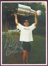 Neal Broten, NHL Star, Olympic Star, Signed Photo, COA, UACC RD 036
