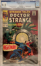 Strange Tales #164 CGC 9.2 White Pages - 1st Appearance of Yandroth & James Bond