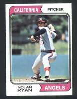1974 Topps #20 Nolan Ryan NM/NM+ Angels 114591