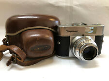 Voigtlander Vito B 35mm Film Camera Color-Skopar 50mm f/3.5 + Original Case