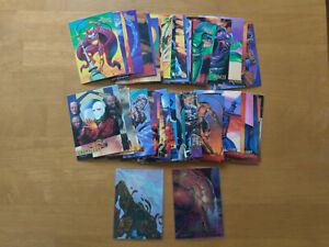 1995 95 Fleer Ultra Spider-Man 50-Card Lot (+1 Masterpiece, 1 Holoblast)