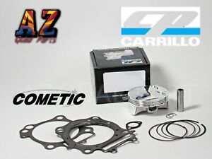 03-06 Kawasaki KFX400 KFX 400 90mm 90 Stock Bore 12:1 CP Piston Top End Gaskets