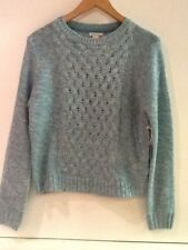 Forever 21 mint green cream sweater New NWT Size S Small