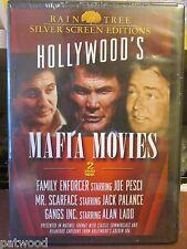 Hollywood's Mafia Movies (DVD, 2004, 2 Disc Set), NEW, Joe Pesci, Jack Palance