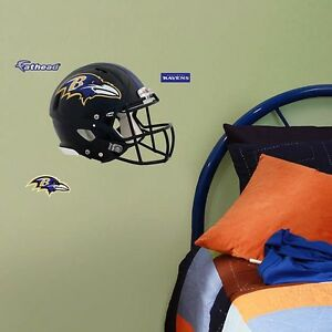 Baltimore Ravens Helmet Fathead Teammate