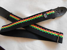 BOB MARLEY HACKY SACK ADJUSTABLE JIM DUNLOP ELECTRIC,ACOUSTIC,BASS GUITAR STRAP