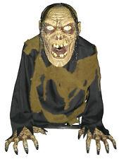 New Life Size ANIMATED MONSTER ZOMBIE Fog Machine Accessory Halloween Haunt Prop