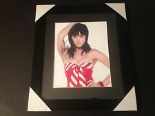 Katy Perry Signed Auto 8x10 PHOTO Framed & Matted JSA Certified