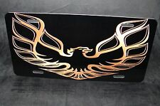FIREBIRD  LICENSE PLATE TAG TRANS AM PONTIAC METAL CUSTOM