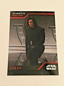 2019 Topps On-Demand Star Wars The Power of the Dark Side #11 - Kylo Ren