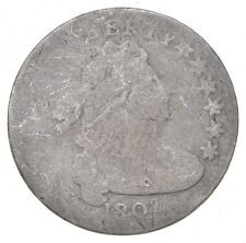 1807 Draped Bust Dime - Charles Coin Collection *721
