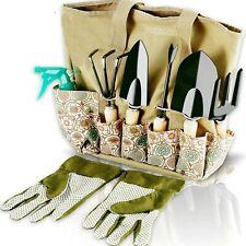 Garden Tools Set - 8 Piece Heavy Duty Gardening Kit